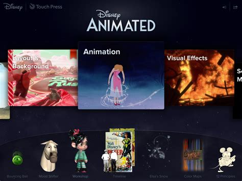 film disney animation disney animated ipad app brings magic to your fingertips