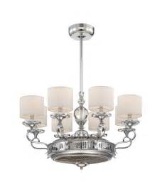 White Ceiling Fan With Chandelier Ceiling Fan Chandelier For Room Decoration Home Decor News