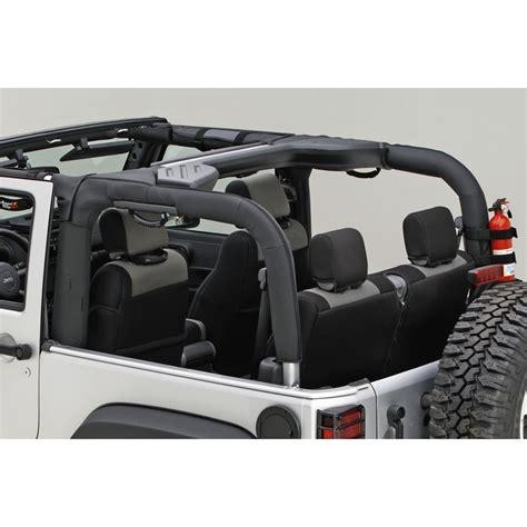Do Jeep Wranglers Roll Easily 2007 2018 Jeep Wrangler Rugged Ridge Roll Bar Cover Kit