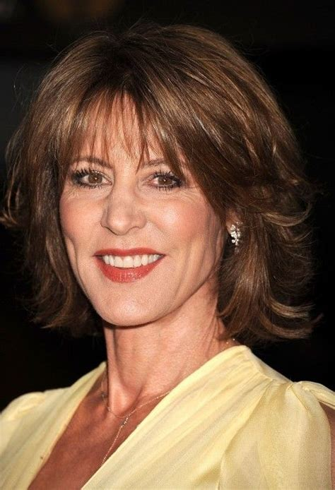 haircuts with bangs for middle age women hairstyles for middle aged women with medium length hair