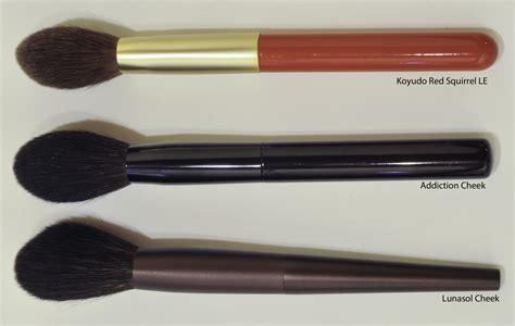hair and makeup addiction brushes review lunasol makeup brushes mugeek vidalondon