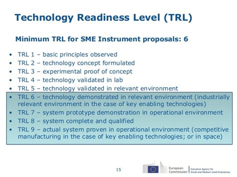 technology proof of concept template the sme instrument in horizon 2020