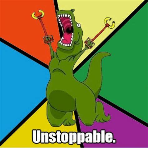 Unstoppable Dinosaur Meme - i really hope destiny 2 offers warlocks and titans better