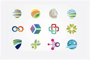 colorful logo vector elements gallery