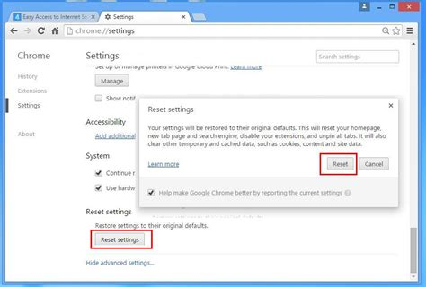 reset chrome online how to uninstall www emt7 com from computer uninstall