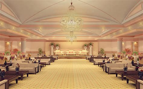 Banquet Interior Design In India by Banquet Halls Interior On Behance