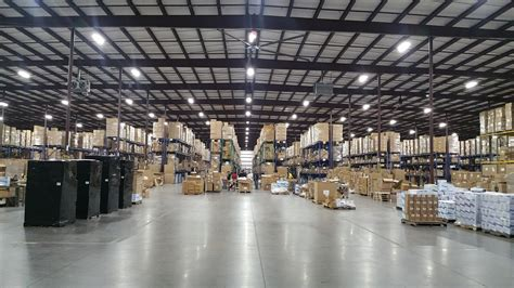 warehouse distribution relumination