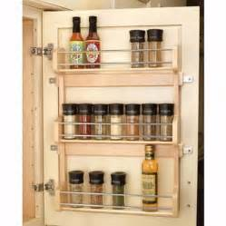 Door Spice Racks Door Mount Spice Racks Rev A Shelf 4sr Series Rockler