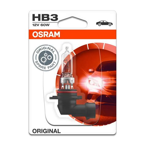Lu Osram Hb3 12v 60w Original hb3 osram original line 9005 01b 60w 12v p20d bli1