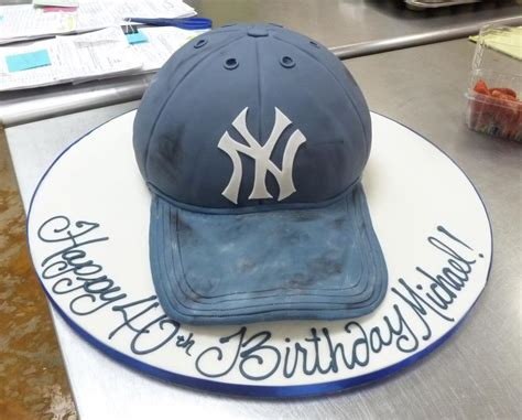 Palet Bed New York Yankee S Hat Cake