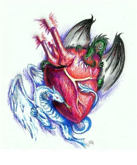 tattoo dragon heart dragons heart tattoo sketch best tattoo designs heart