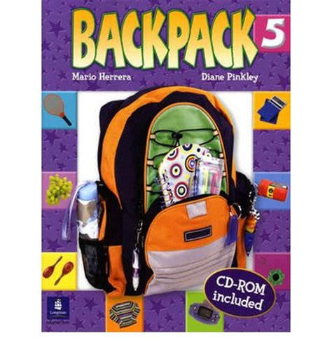 backpack student book and cd rom level 5 mario herrera 9780131923041