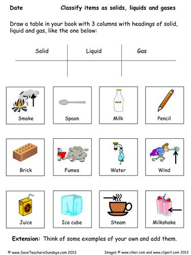 States Of Matter Worksheet Pdf by States Of Matter Year 4 Planning And Resources By