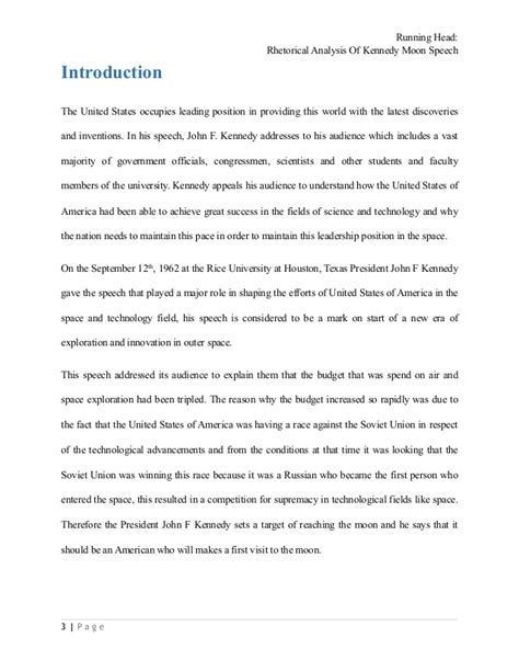 I A Speech Essay Analysis by Rhetorical Analysis Essay Exle