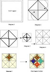 Cathedral Window Patchwork Tutorial - 17 best ideas about cathedral windows on