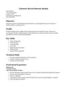 Customer Service Associate Resume Sle by Customer Representative Resume Sales Representative Lewesmr