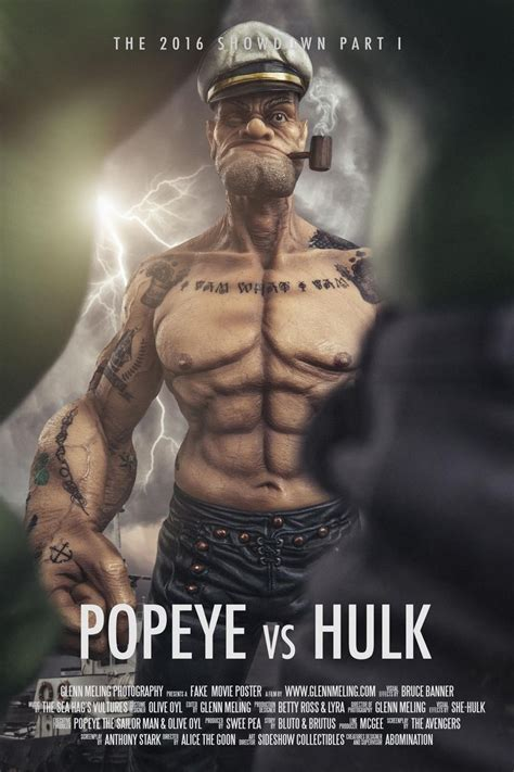 popeye movie 377 best hulk banner and posters images on pinterest banner banners and fan art
