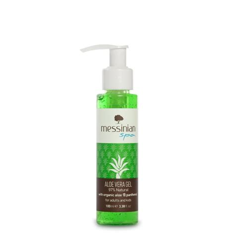 Aloe Vera Gel 100 Gr By Nusae by Messinian Spa Aloe Vera Gel αλόη πανθενόλη 100ml