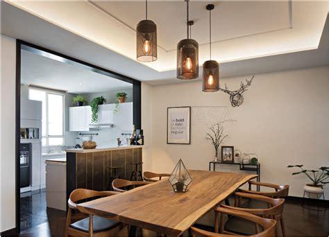 ruang makan  desain terbuka