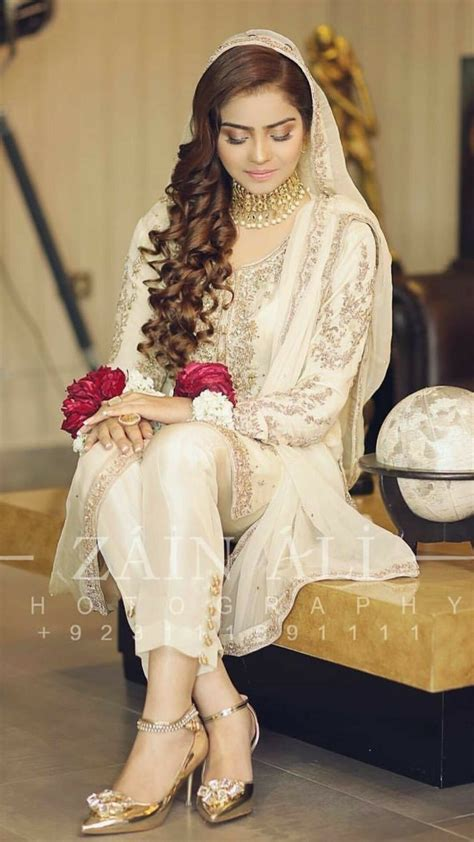nikkah bride nikah dress pakistani wedding dresses