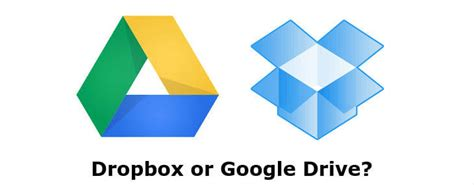 dropbox vs google drive dropbox vs google drive android which app wins