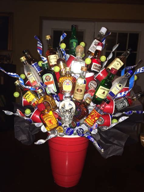 Alkohol Geschenke Basteln by 17 Migliori Idee Su Bouquet A Base Di Prodotti Con Alcol