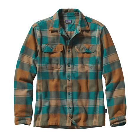 Flannel Shirts For Mens Sht 629 patagonia ls fjord flannel sht