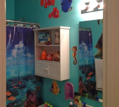 nemo bathroom decor finding nemo bathroom shower curtain for kids