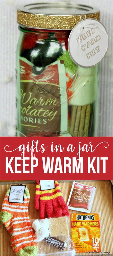 gifts in a jar keep warm kit