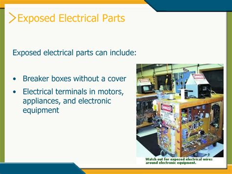 how to cover exposed electrical wires electrical safety simplebooklet