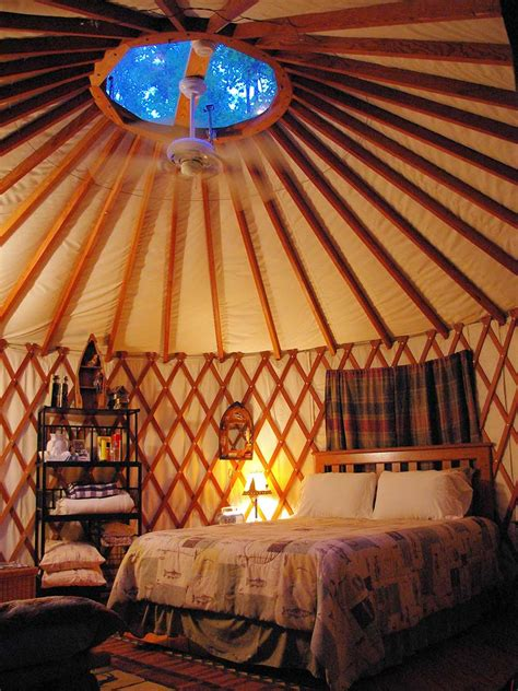 nantahala yurts falling waters bryson city nc