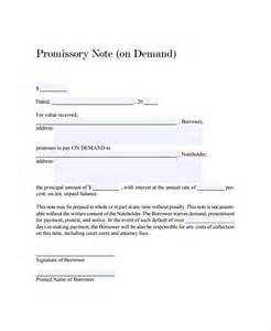 13 promissory note templates free sle exle