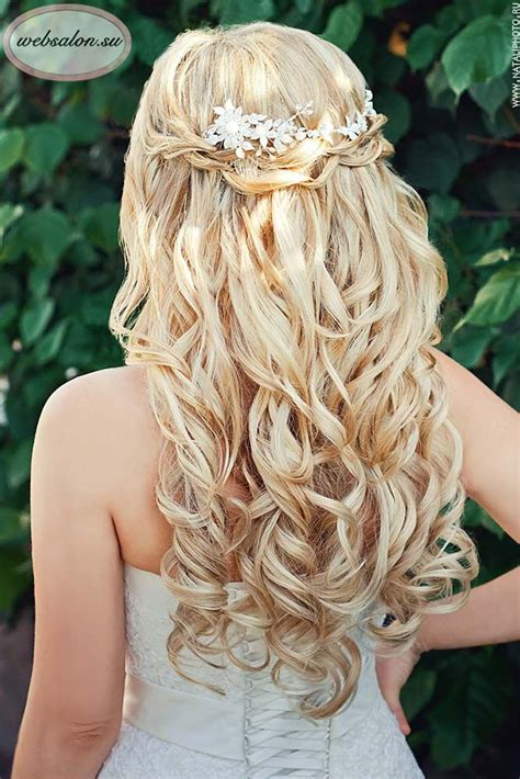 Country Wedding Hairstyles For Hair by 36 Half Up Half Wedding Hairstyles Ideas Wedding