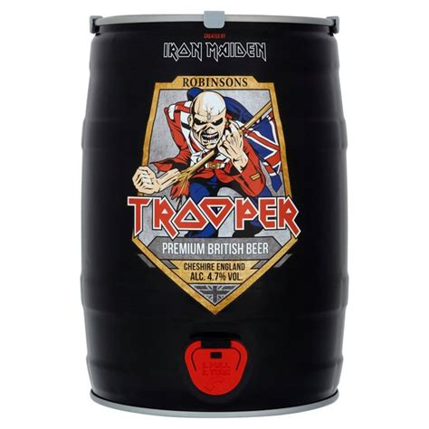 Best Light Beers Morrisons Iron Maiden Trooper Keg 5l Product Information