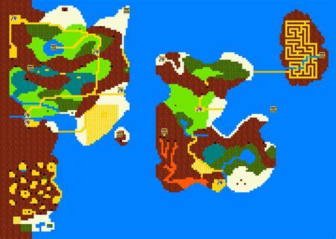 legend of zelda ii map zelda ii the adventure of link walkthrough strategywiki