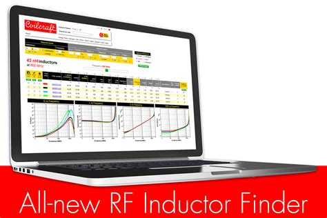 coilcraft inductor srf coilcraft s new rf inductor finder lets engineers find parts based on true operating conditions