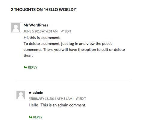 comments section improving the look and feel of your author comments wpmu dev