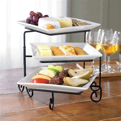 three tier buffet server 25 best 3 tier serving tray ideas on