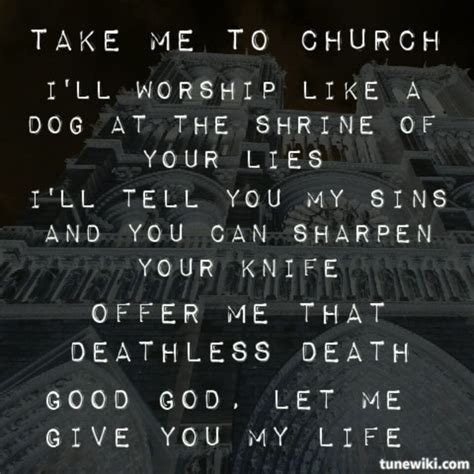 Take me to church by hozier teen resilience