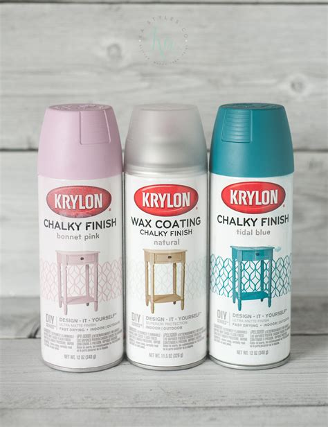 chalk paint spray krylon chalk finish paint ka styles