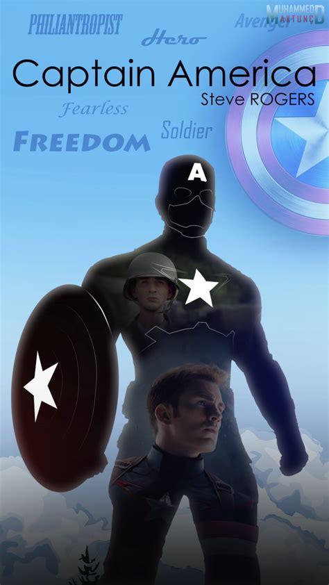 Mobil Captain America captain america mobile wallpaper by muhammedaktunc on
