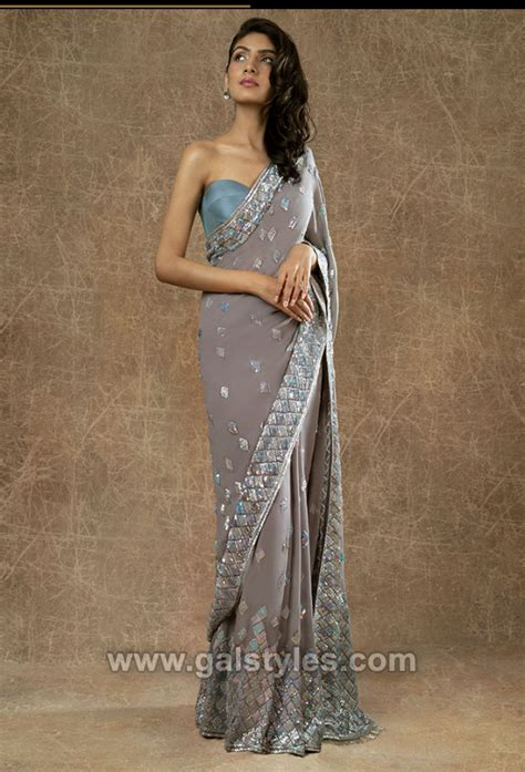 manish malhotra latest indian designer sarees collection