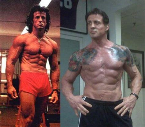 arnold schwarzenegger sylvester stallone at 70 60 year olds who make you look like a pansy health