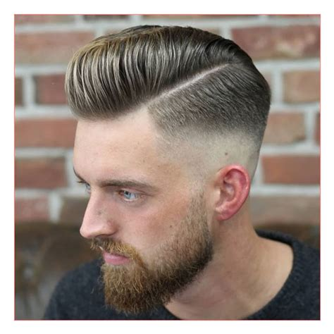mens hard part haircuts men mohawk haircuts plus cool pompadour hard part mid skin