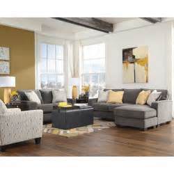 Yellow And Grey Chair Design Ideas Living Room Cool Image Of Living Room Decoration Using Grey Fabric Chaise Lounge Chair For