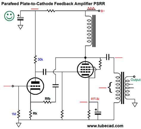 inductor in an lifier circuit parafeed lifier design