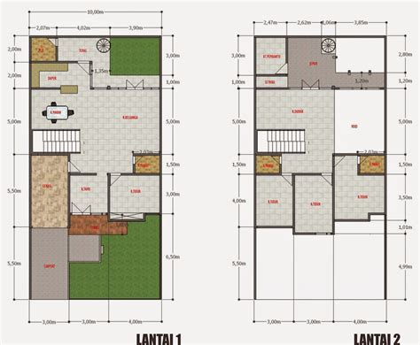 desain rumah 10 x 20 desain rumah minimalis 1 lantai 10 x 20 foto desain