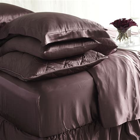 silk bed sheets pure silk fitted sheets full size