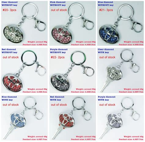 Found Bling Tastic Rhinestone Keyrings pin by harry wong on car keychains