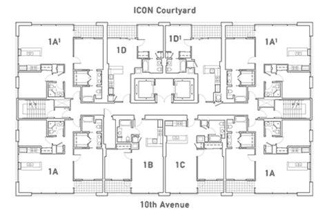 Icon Condo Floor Plan by Icon Condos Downtown San Diego Condos
